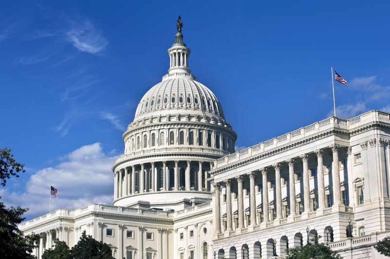 US Capital in Washington,DC.