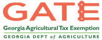 GATE. Georgia Agricultural Tax Exemption. Georgia Department of Agriculture.