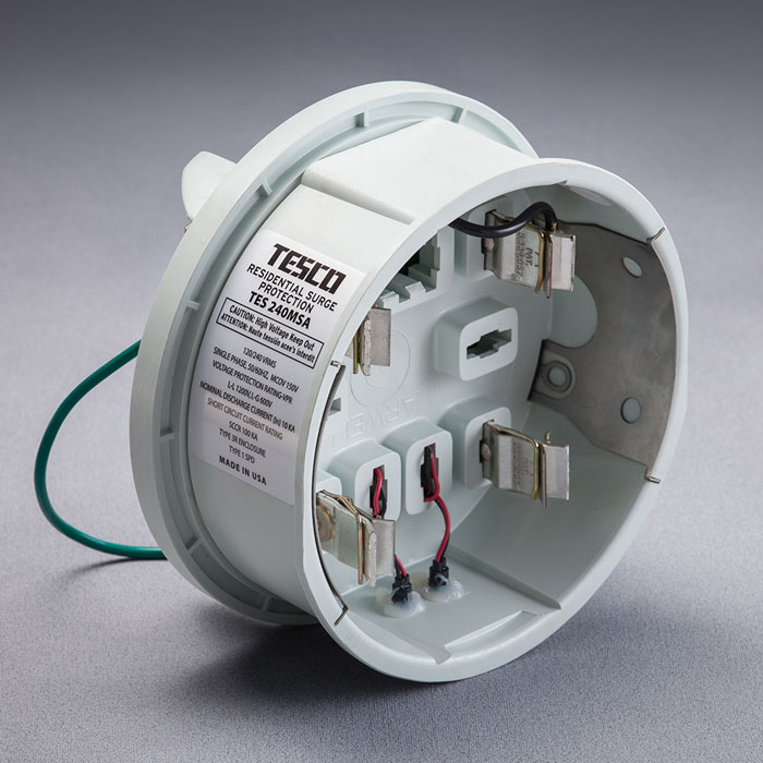 Tesco surge protection device