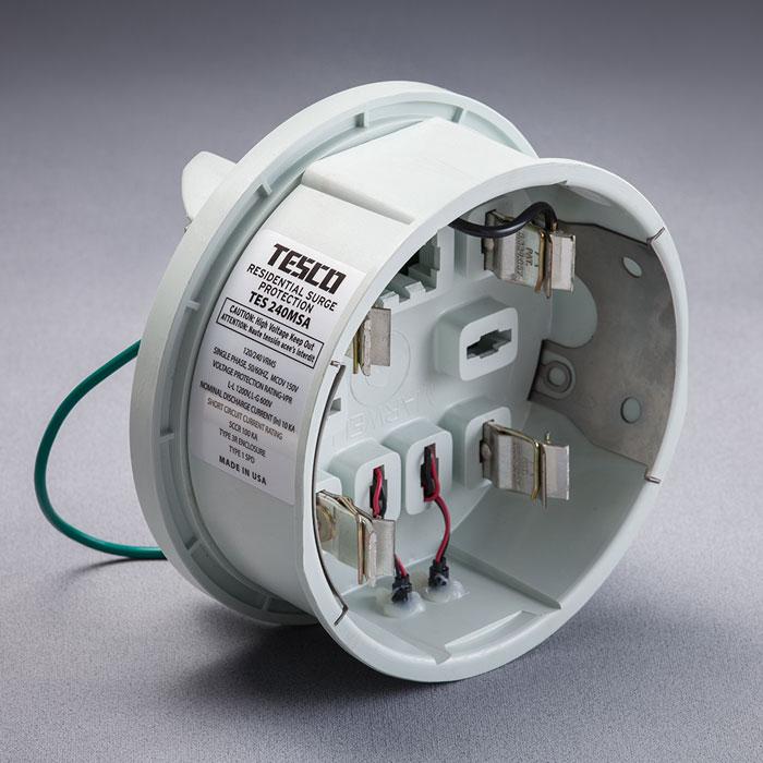 Tesco surge protection device